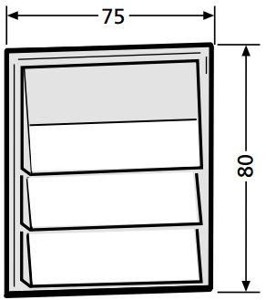 renz tastenmodul mit 3 klingeltaster ersatzteile. Black Bedroom Furniture Sets. Home Design Ideas